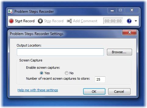 ضبط کردن لحظه به لحظه ی اشکالات در ویندوز