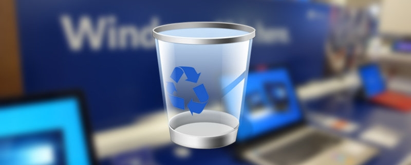 3x714 2 800x321 - اضافه کردن سطل آشغال به تسکبار ویندوز